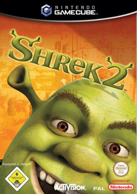 Shrek   2 [Akzeptabel]  Spiele Gamecube Nintendo Videospiele