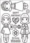 Kanban Crafts All About Her Clear Acrylic Stamps Urban Belles Love Hearts