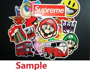Pack-of-10-Mixed-Skateboard-Stickers-10-Random-Skateboard-Decorative-Stickers