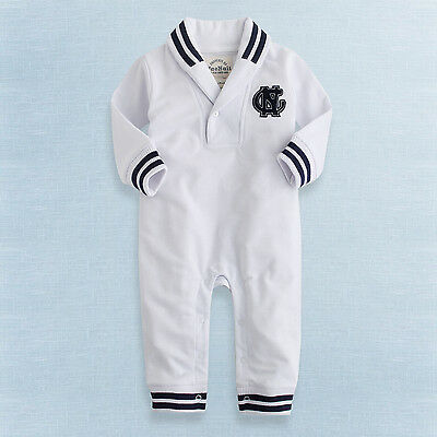 "NWT Vaenait Baby Newborn Infant Boy Girl All-in-one Jumpsuit Onepiece ""C.N Mark"""