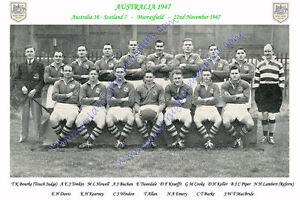 AUSTRALIA-1947-v-Scotland-22nd-November-RUGBY-TEAM-PHOTOGRAPH