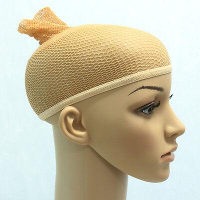 1PC Elastic Nylon beige Wig Caps Prevents Wig Slippage