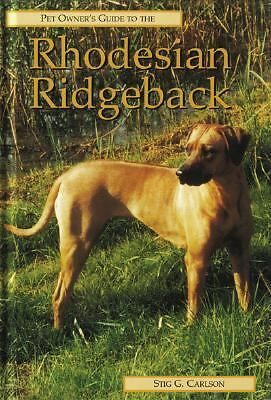 RHODESIAN RIDGEBACK (Pet Owner's Guide)