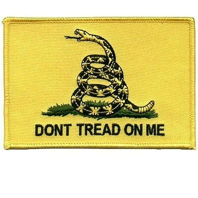 GADSDEN FLAG Don't Tread On Me Cool Biker Vest PATCH!!!