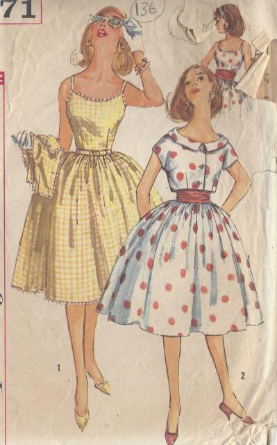 1950s Vintage Sewing Pattern B33
