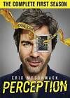 Perception: The Complete First Season (DVD, 2013, 2-Disc Set)