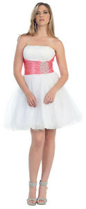 NEW-SHORT-STRAPLESS-PROM-DRESS-PARTY-COCKTAIL-SEMI-FORMAL-HOMECOMING-GRADUATION