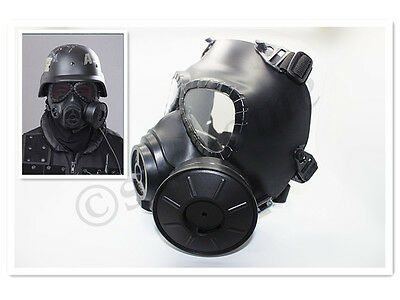 Airsoft AntiFog Turbo Fan System Face Protector Gas Mask Paintball Fast Shipping