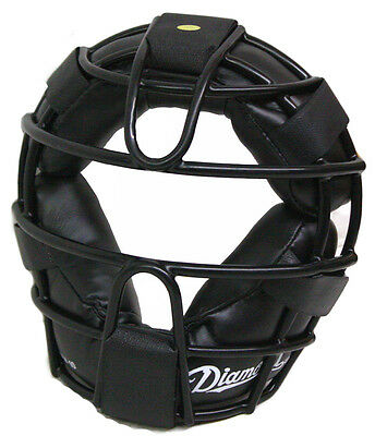 Diamond DFM-10 Youth Baseball Catcher's Face Mask Protector Black