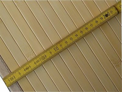 n7. Hochwertige BAMBUS Teppich  ca.190 x 290 cm.  Farbe NATUR NEU