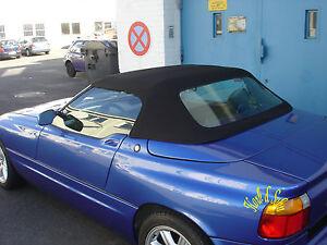 BMW-Z1-Capot-lunette-arriere-PVC-TRANCHES-Nettoyeur-VERNIS-Pate-M-polissage