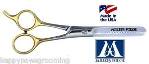 MILLERS-FORGE-THINNING-BLENDING-SCISSOR-SHEAR-6-1-2-034-w-case-Pet-Dog-Cat-Grooming