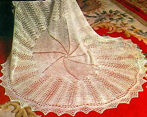 Vintage knitting pattern-How to make a lace baby heirloom ...