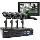 Swann Communications 950 4 Channel DVR 4 Outdoor Camera 320 GB 7 Ft. LCD, SW344-DPS