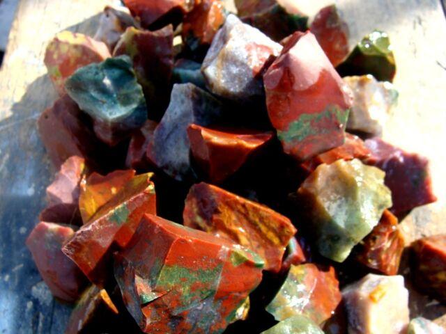 Natural FANCY JASPER - 2000 Carats - Rough Rocks  - PERFECT FOR TUMBLER POLISHER