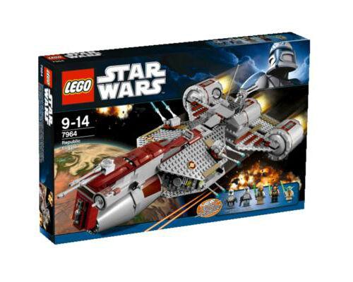 NEW LEGO 7964  Republic Frigate - Star Wars - Factory Sealed