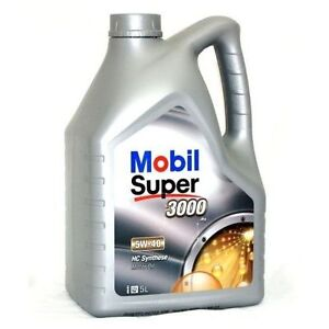 mobil super 3000 x1 engine motor oil 5w40 5 w 40 5w 40 vw. Black Bedroom Furniture Sets. Home Design Ideas
