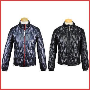 Armani-Jeans-Down-Black-Blue-Jacket-Coat-Parka-size-S-M-L-XL-2XL-3XL