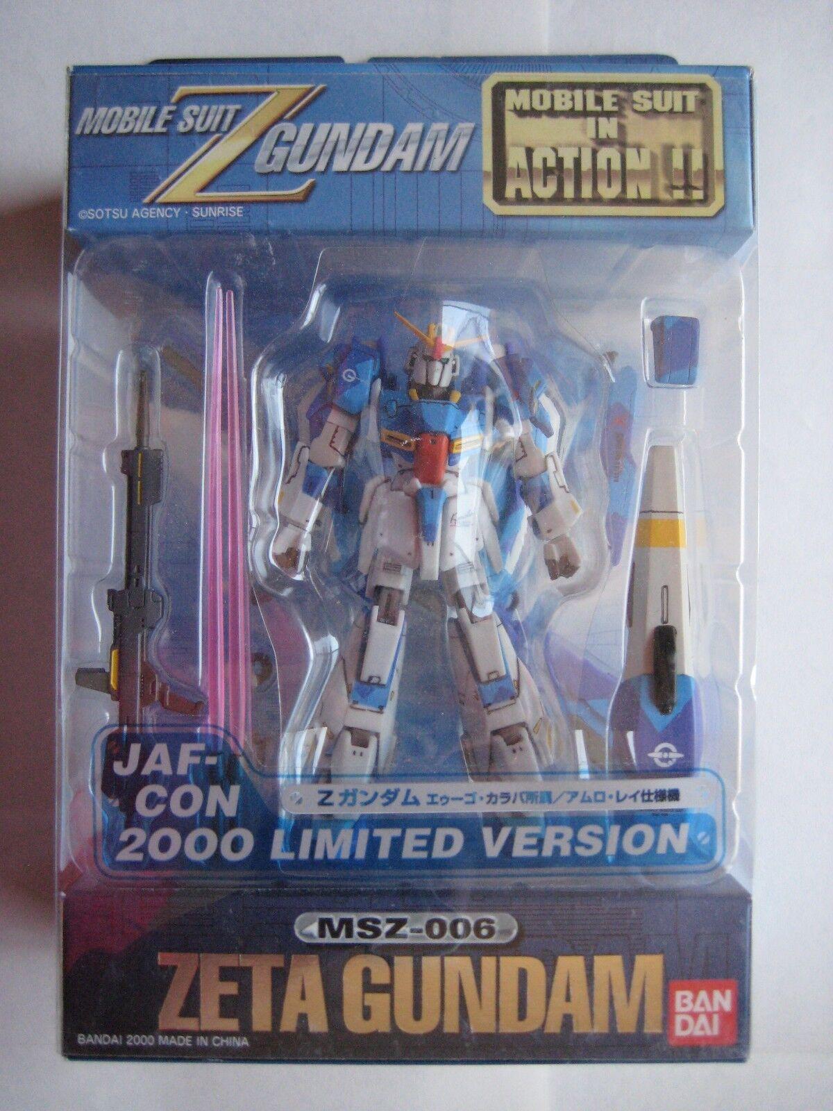 MSIA Gundam Zeta Karaba Jaf Con Farbe Limited Edition