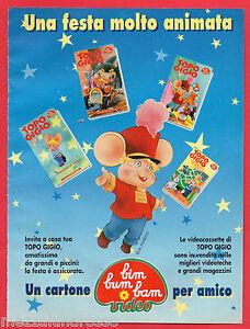 Pubblicita-Advertising-BIM-BUM-BAM-video-1994-Topo-Gigio