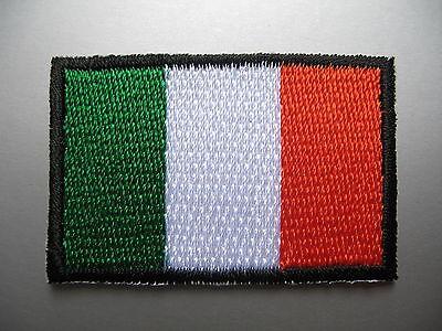 IRISH FLAG Small Iron On / Sew On Patch Badge Ireland Éire bratach na hÉireann