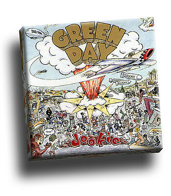 Green Day - Dookie Giclee Canvas Album Cover Picture Art