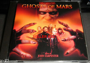 JOHN-CARPENTER-movie-SCORE-cd-GHOSTS-OF-MARS-soundtrack-STEVE-VAI-buckethead-OST