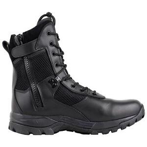 MENS-BLACK-MILITARY-POLICE-TACTICAL-BOOT-WITH-ZIPPER-T1180BZ