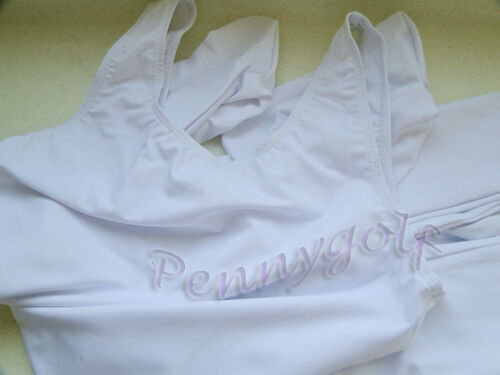 ballet/&dance men//boy vest footed leotard//unitard (black/&white