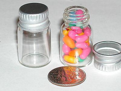 1 miniature oil vial perfume fairy dust wish tube container bottle Screw Cap