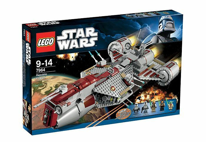 LEGO Star Wars Republic Frigate (7964) versiegelt Neu OVP MISB