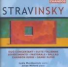 Igor Stravinsky - : Duo Concertant; Suite Italienne; Divertimento; Pastorale; Ballad; Chanson Russe; Da (1999)