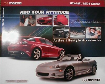 2005 Mazda RX-8 Miata Accessories  Brochure 05