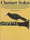 Clarinet Solos by AMSCO Music (Paperback, 1992)