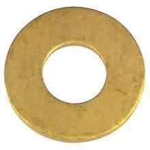 1/4 Brass Flat washer Qty 250