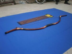Archery-Traditional-hunting-Longbow-30-Bow-Recurve-QIANJIE-BOW-unique-in-world