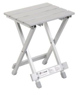 OZTRAIL-ALUMINIUM-STOOL-Portable-Seat-Camping-Picnic-Beach-Chair