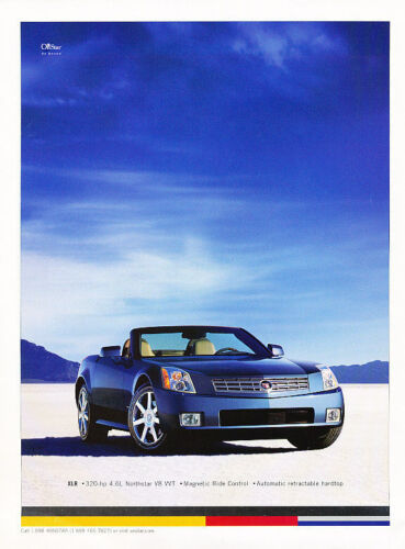 2004 Cadillac XLR Sky Classic Vintage Advertisement Ad D118