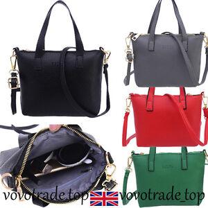 5c9f1652543 Image is loading Womens-Fashion-Handbag-Shoulder-Bag-Ladies-Celebrity-PU-