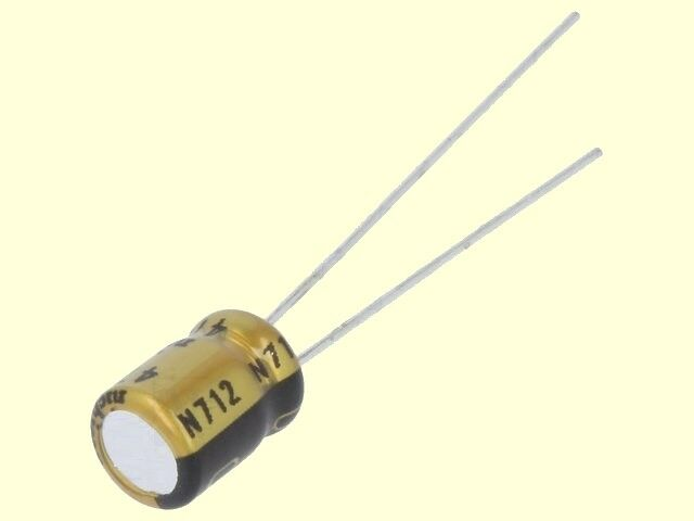 Nichicon Elko Grade Audio ufw1h010mdd 1uf 50v 5x11mm rm2 85 ° #bp 5 PCS