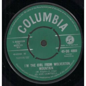JO-ANN-CAMPBELL-I-039-m-The-Girl-From-Wolverton-Mountain-7-034-VINYL-UK-Columbia