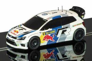 SALE-Scalextric-Slot-Car-VW-Polo-WRC-No-8-C3535