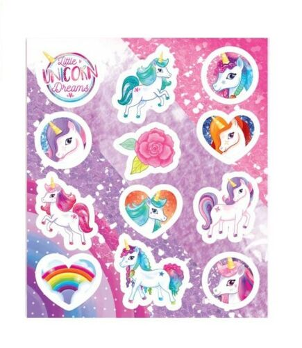1-24 Unicorn Stickers Party Bag Fillers Party Loot Birthday Stocking Unicorns