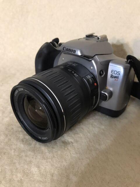 Canon Eos Rebel K2 35mm Film Camera W   Canon Zoom Lens Ef