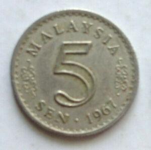 Parliament-Series-5-sen-coin-1967