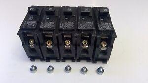 Lot Of 3 SIEMENS B120 Type BL 20 Amp 120//240 Volt 1 Pole  Circuit Breakers