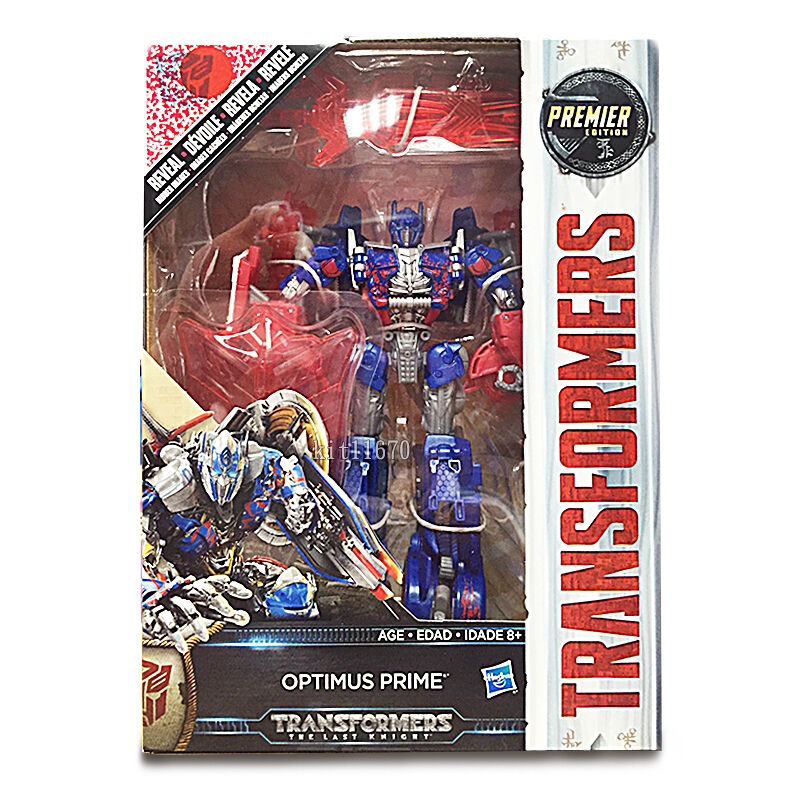 Transformers Last Knight Voyager Optimus Prime Reveal Shield