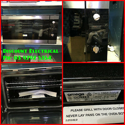 Omega 90CM Electric Oven OO986X  BRNAD NEW  RRP $1890 WE OPEN 7 DAYS 97925354