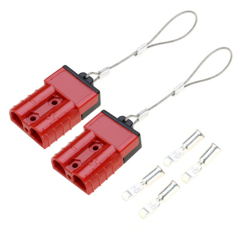 50A Batterie Schnell Verbinder Connector Kabelbaum Stecker ATV Quad Winch Kit