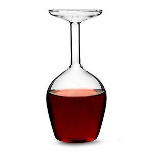 Upside Down Wine Glass 375 ml Novelty Drinking Gift
